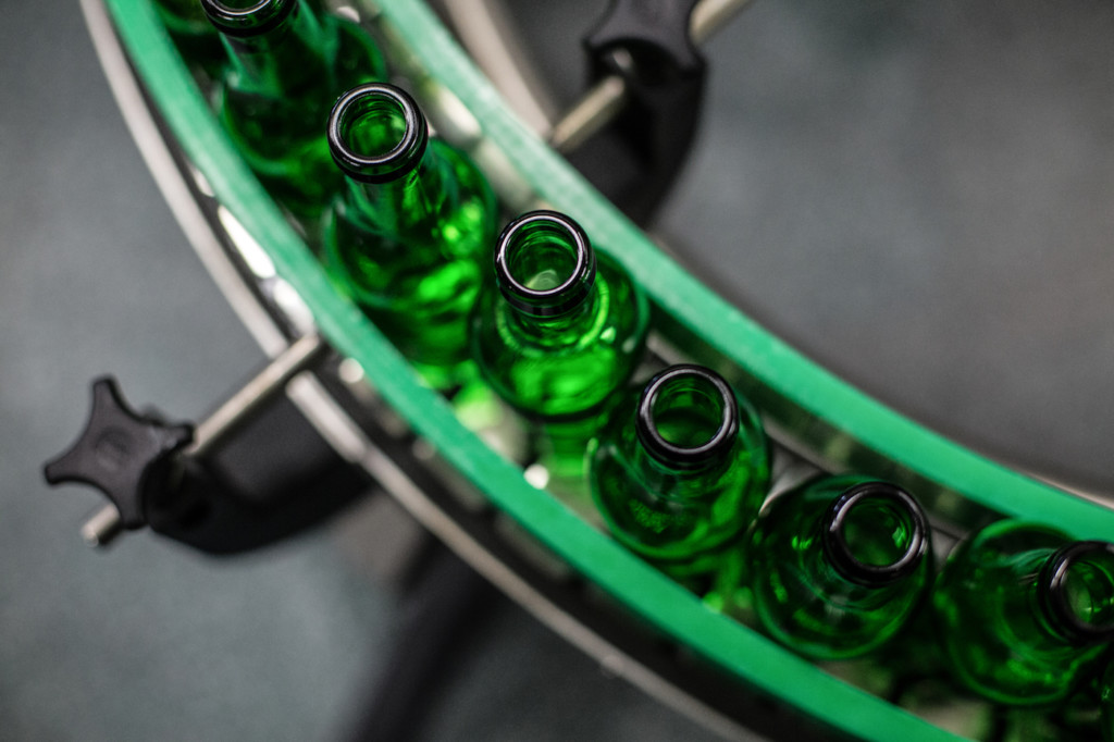 Flaschenbeförderung